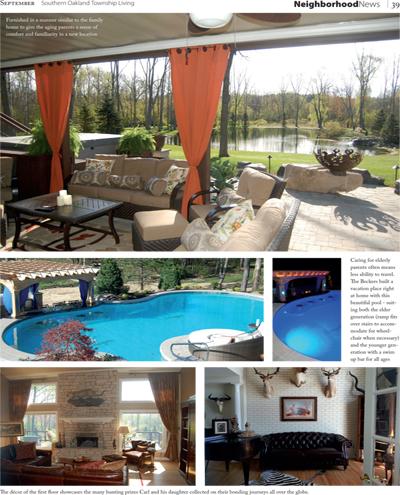 Southern Oakland Township Michigan Living Magazine